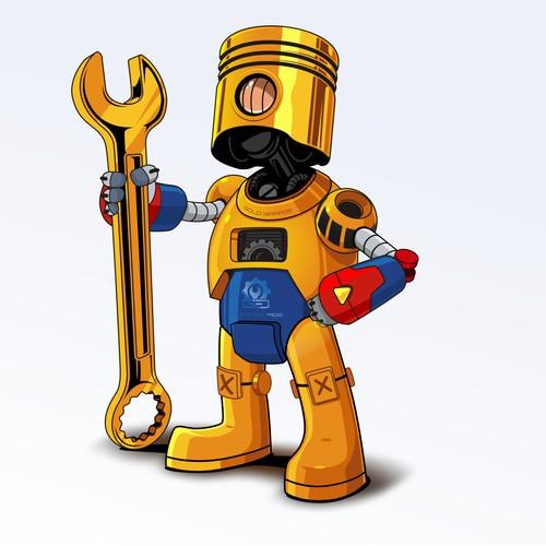 Gold Garage Character