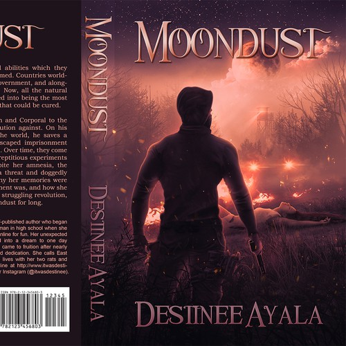Moondust - Fantasy Book Cover