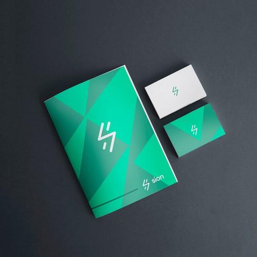 logo concept for Sion (Software platform for Travelers)
