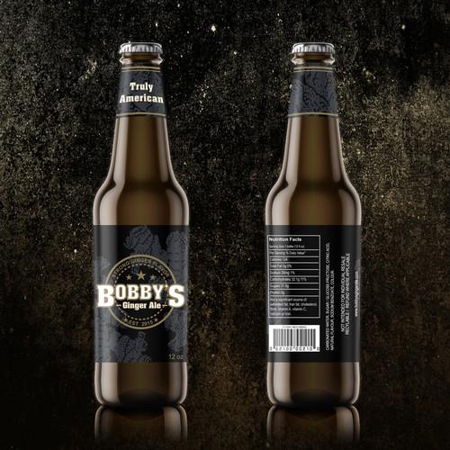 Label Design - Bobby's Ginger Ale