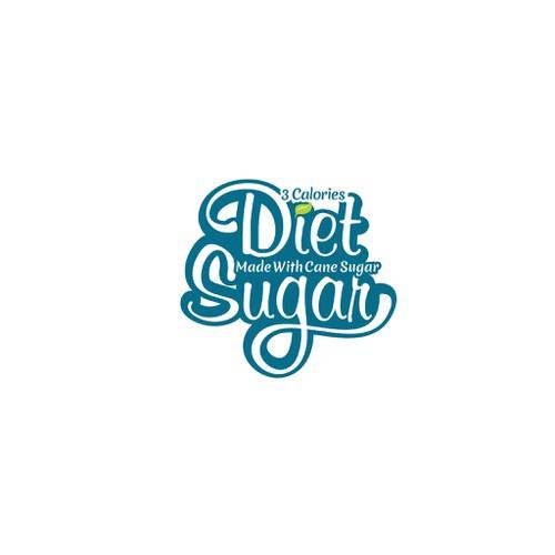 Create a logo for Diet Sugar