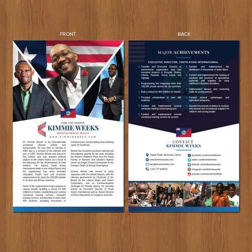 Campaign post card