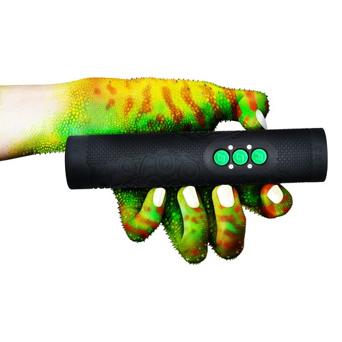 Design for colour changing flashlight