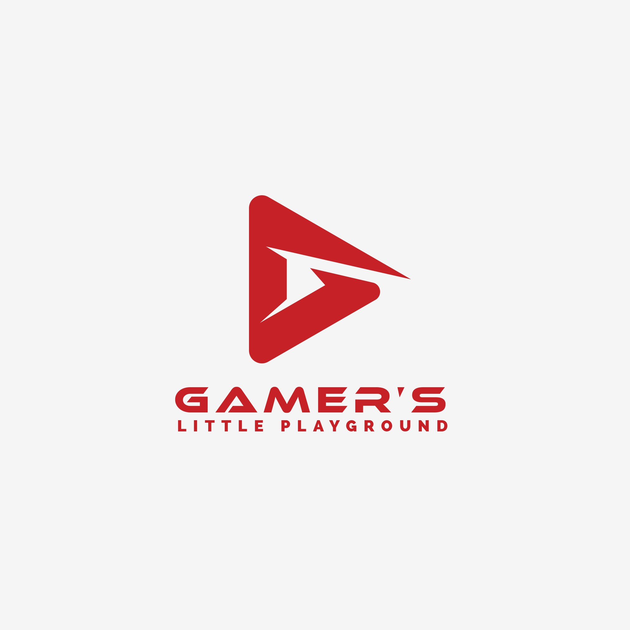 """A simple yet creative logo for our Youtube channel: Gamer's Little Playground"""