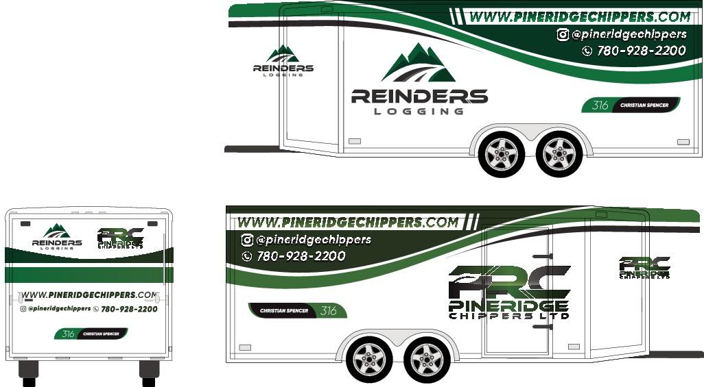 Design a trailer wrap that looks sick!