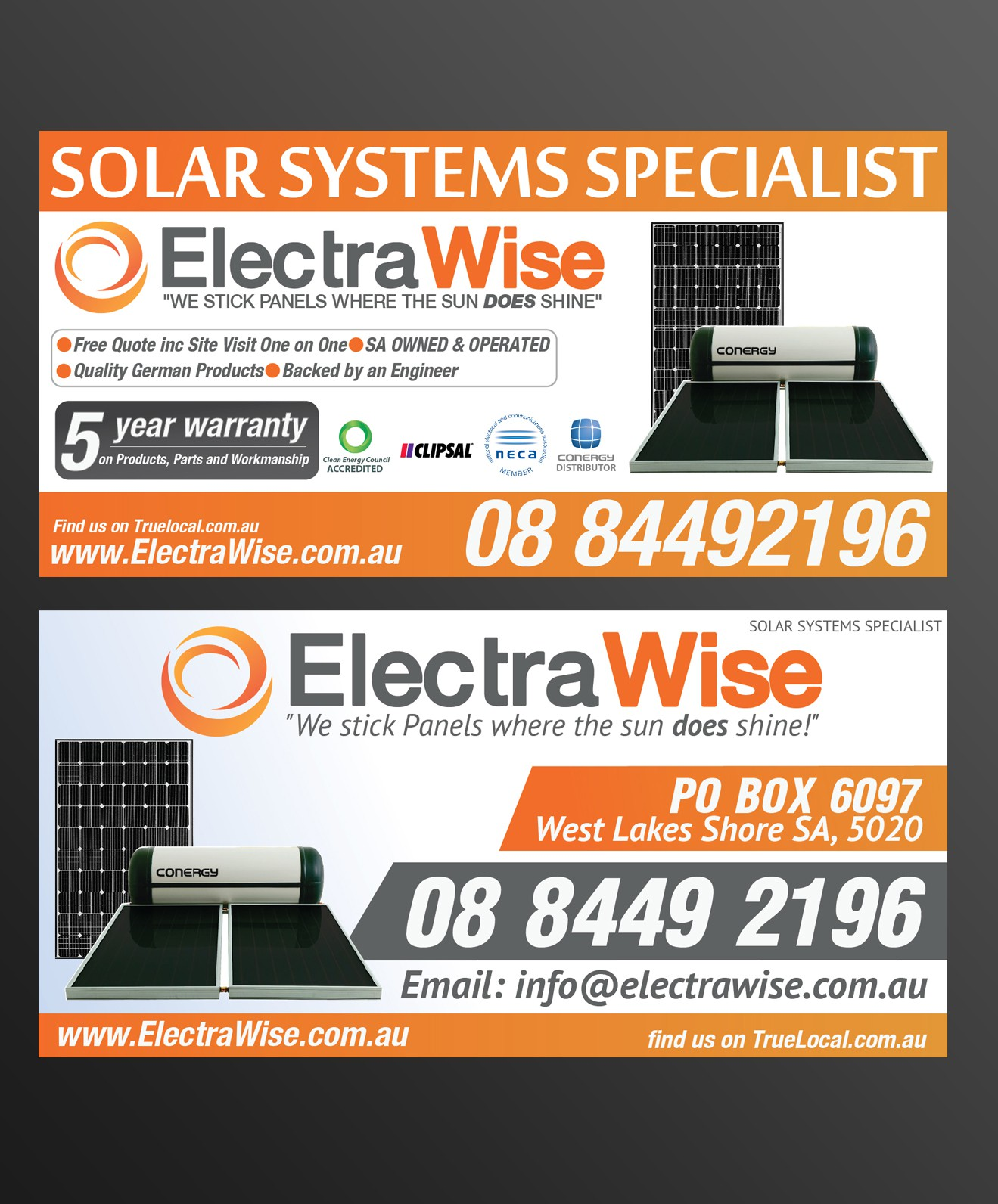 ElectraWise needs a new print or packaging design