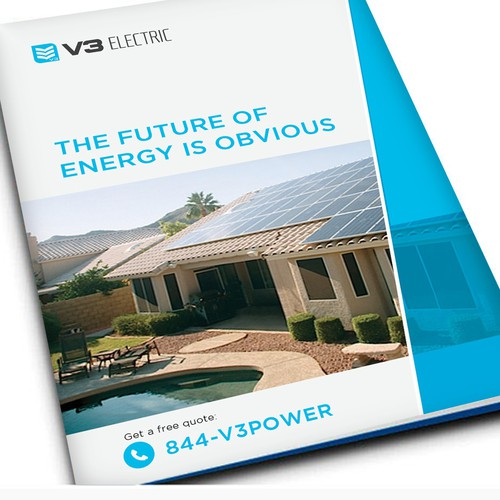 Create a Brochure for Our Growing Solar Company