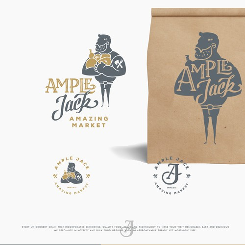 logo for AMPLE JACK