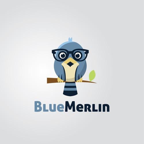 Blue Merlin Logo Concept