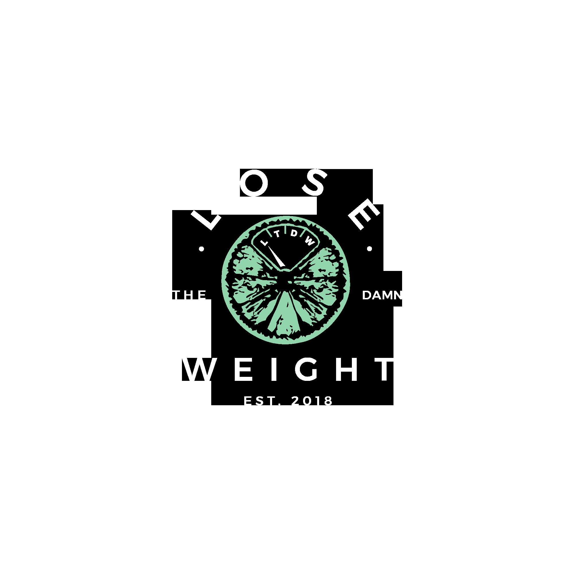 Design a kickass logo for the Lose the Damn Weight Website