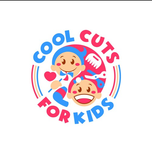 logo for kids haircut