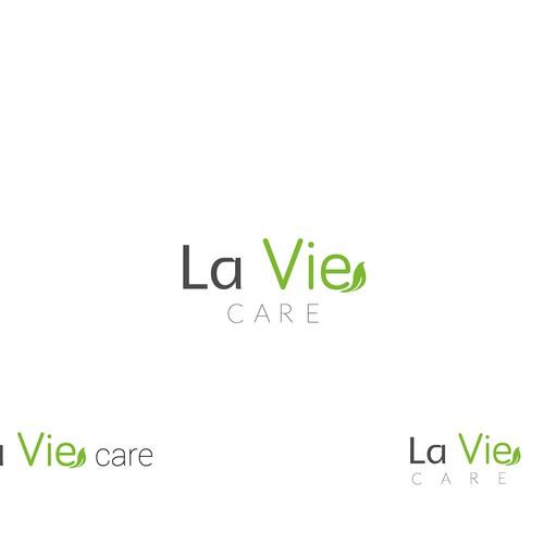 Create a fresh new logo for La Vie Care - A subacute and frail care hospital goup