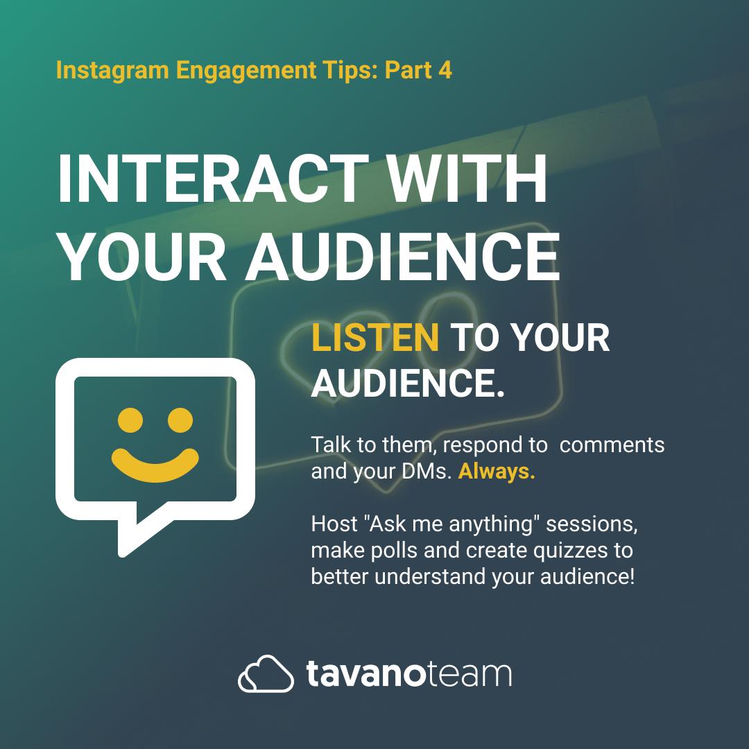 Instaram Slides - Engagement Tips