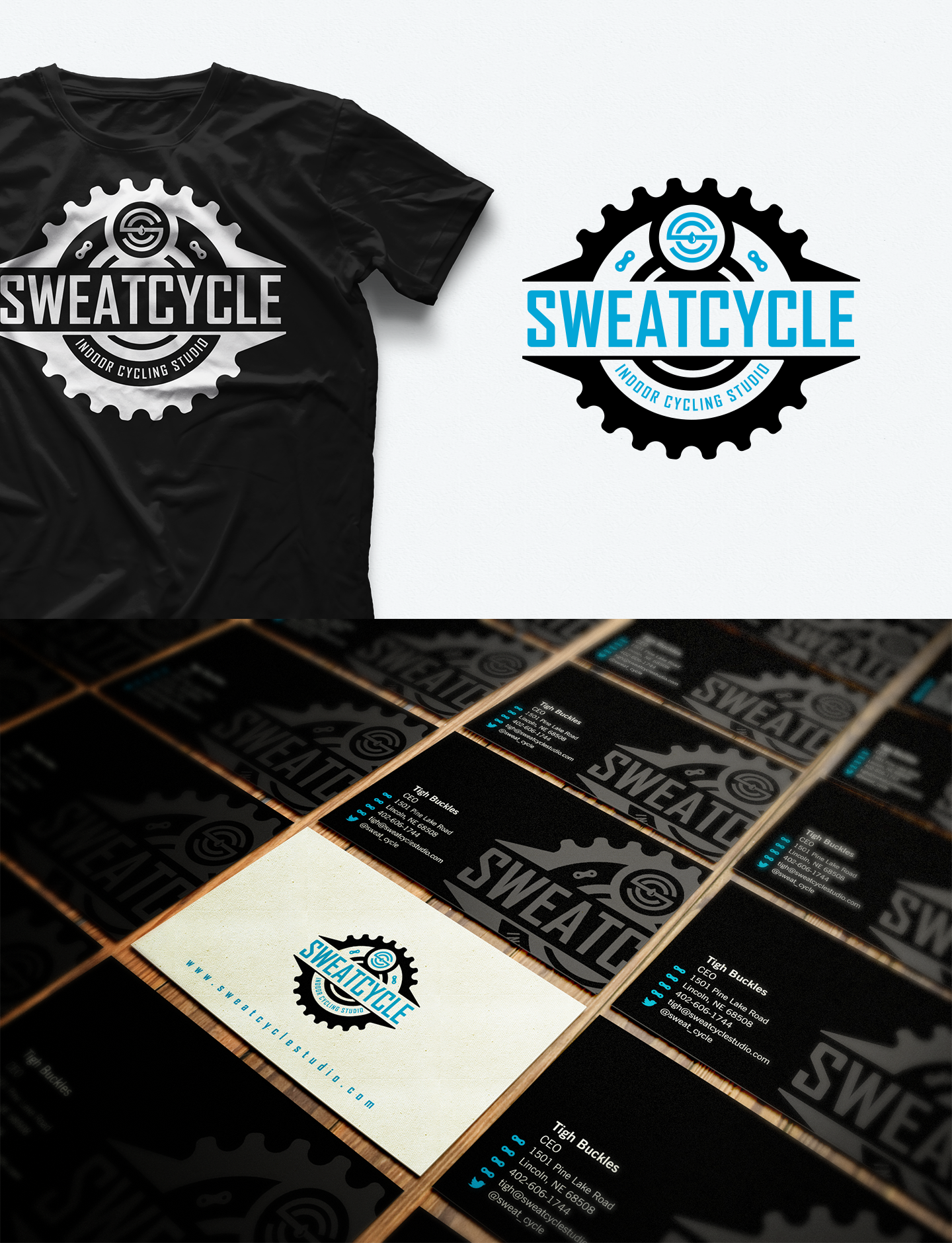 Creating an awesome logo for a new indoor cycling studio!