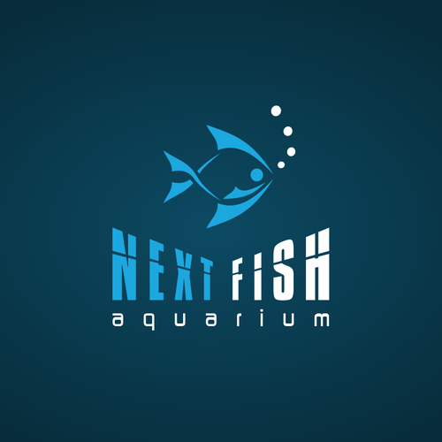 Bold Logo for Aquarium