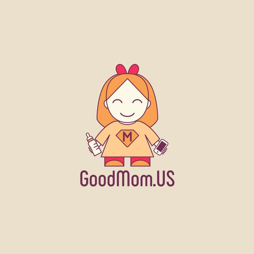 Logo concept for GoodMom.US