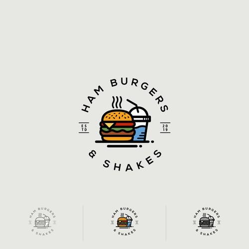 Ham Burgers