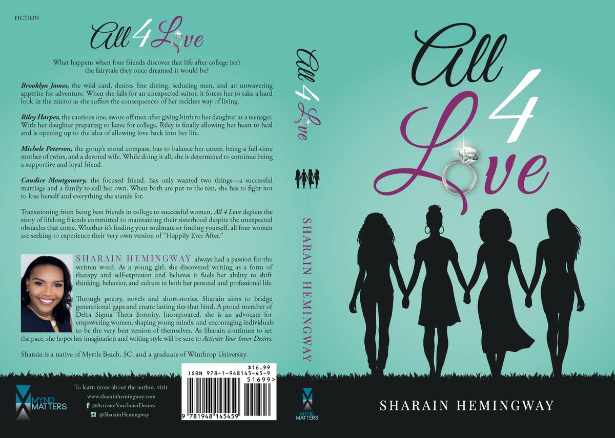 Book Cover Design (Fiction)