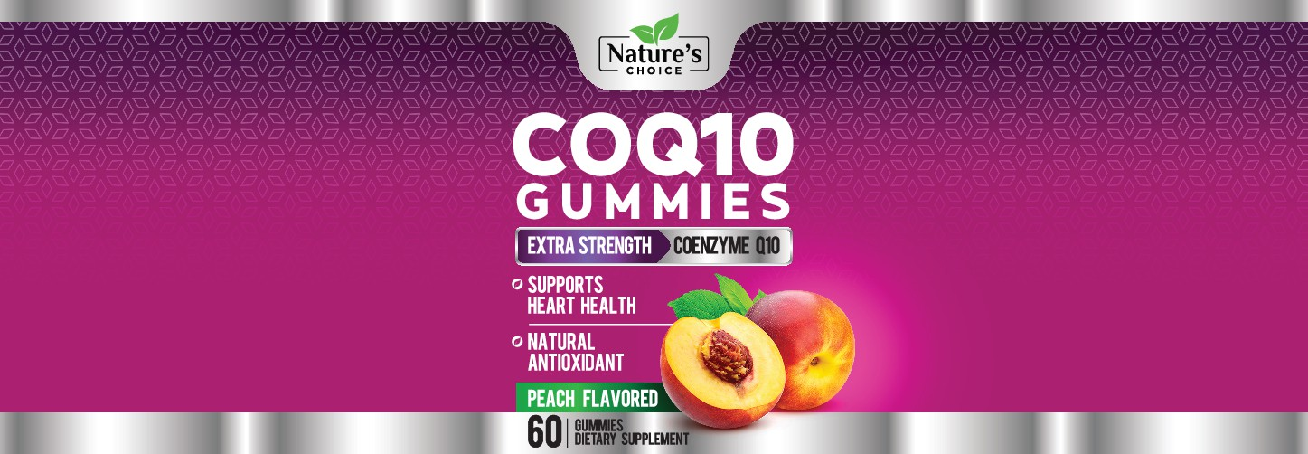 Nature's Choice needs a Healthy CoQ10 Gummies Label