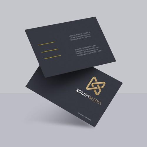 Diversified Media Company Branding Project