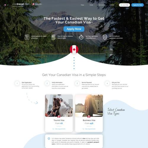 Visa & Travel Assistance website