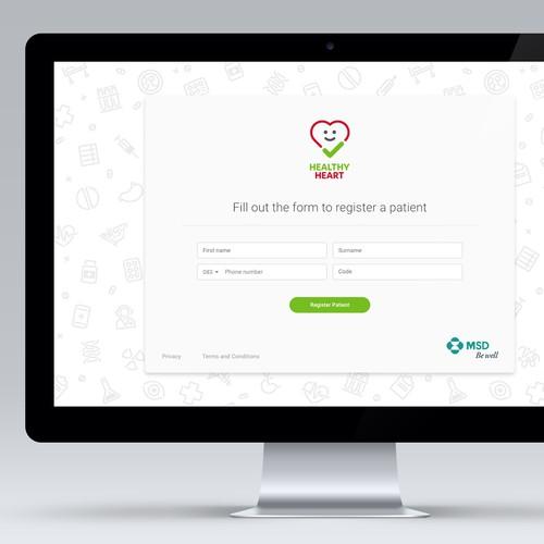 Patient Registration Page