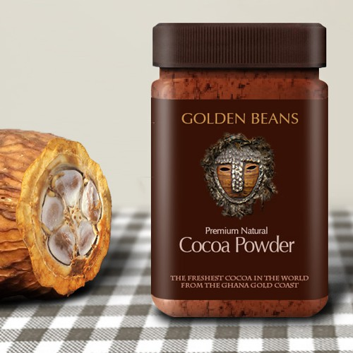 New product label wanted for Golden Beans