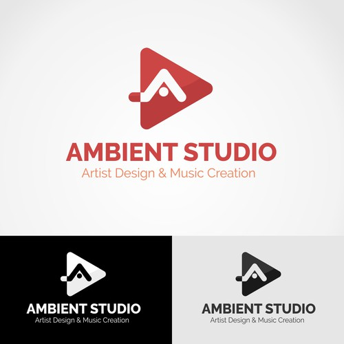 Simple and Professional Logo Ambient Studio