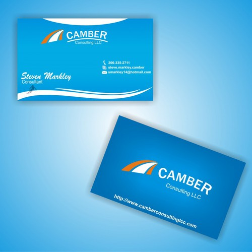 New stationery wanted for Camber Consulting LLC