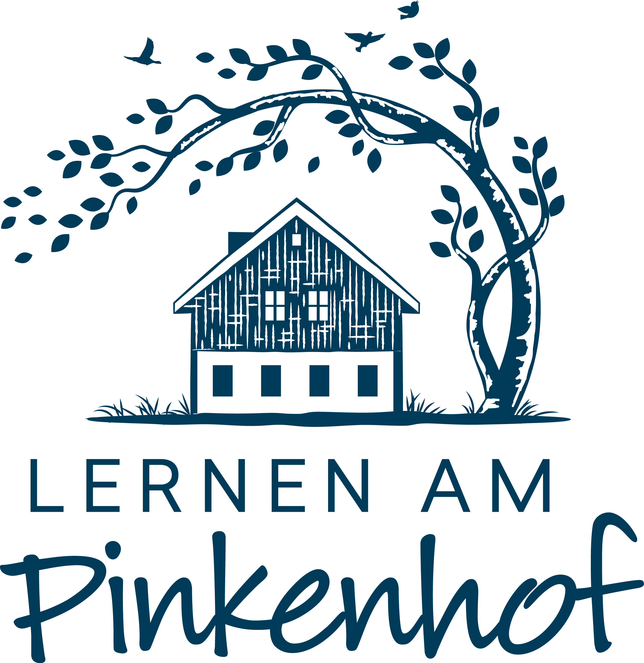 """Too cool for school- create a fresh and young logo for  """"Lernen am Pinkenhof"""""""