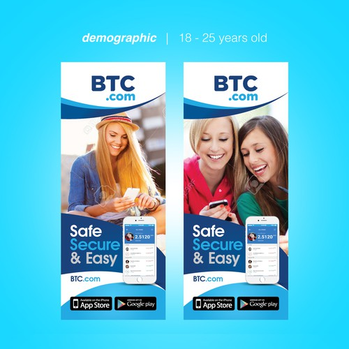 BTC Roll up Banner