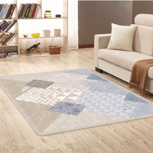 Abstract patternd baby foam mat