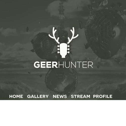 Logo for Geer Hunter