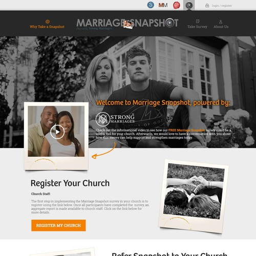Marriage Snapshot Website