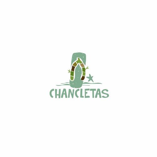 Logo for chancletas
