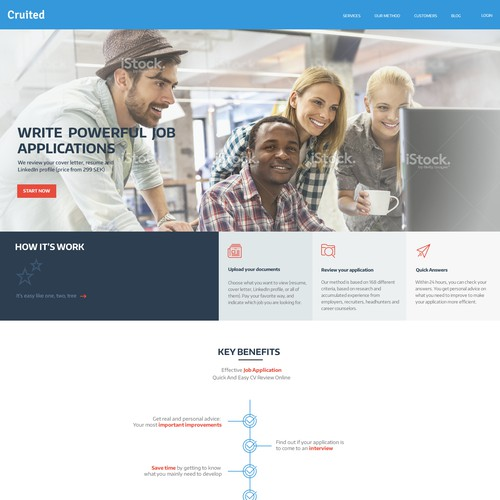 web design for crutied