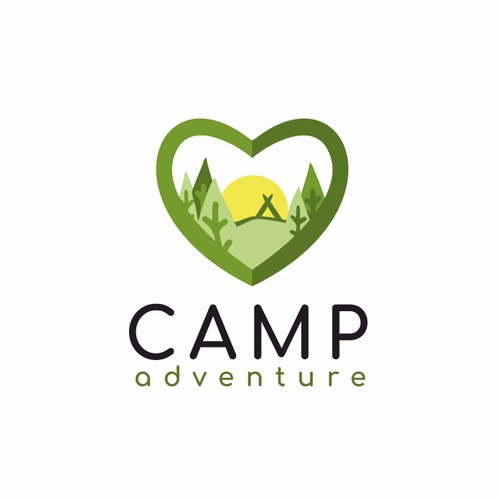 Logo for camp organization