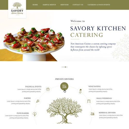 Savory Kitchen Catering