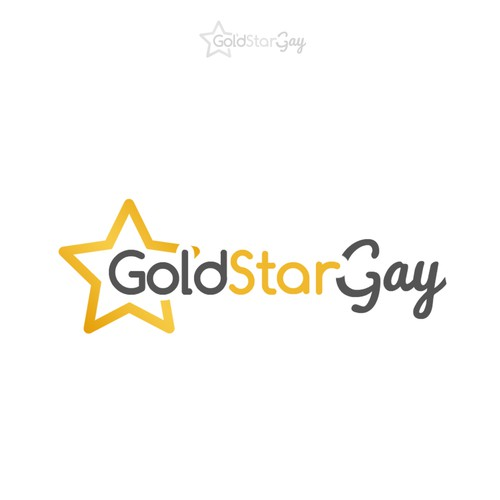 Create a fun logo for our Gold Star Gay quiz and merchandise website