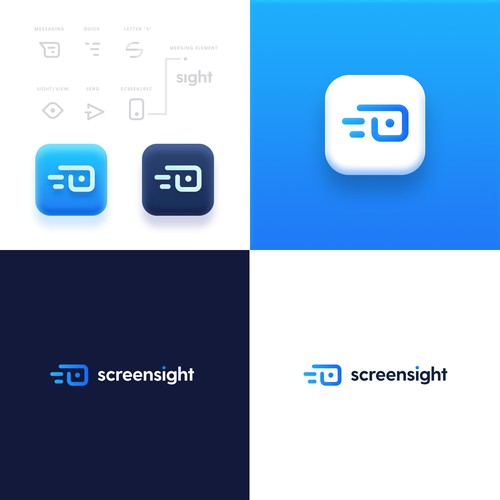 Minimal Logo for Screensight