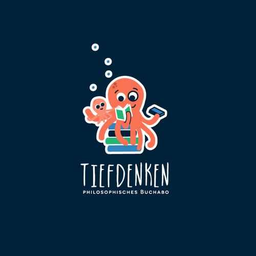 Logo design for Tiefdenken