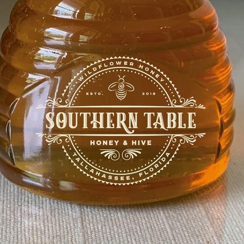 #SavetheBees Organic Honey Company logo
