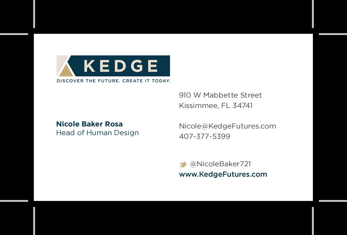 Business card - linkedin logo edit