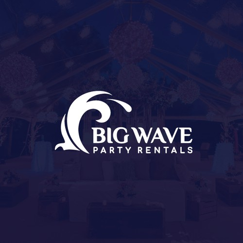 Big Wave Party Rentals Logo