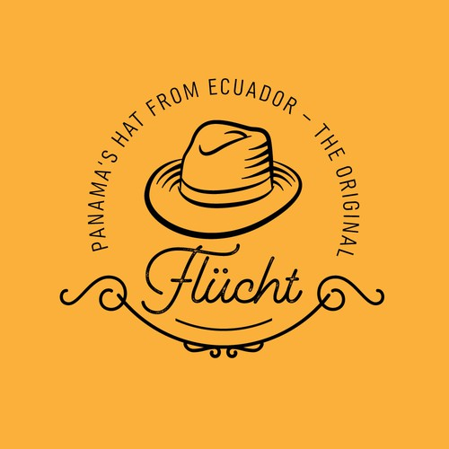 Logo for a hatter from Ecuador