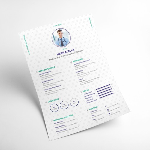 CV Resume | Mark Atalla