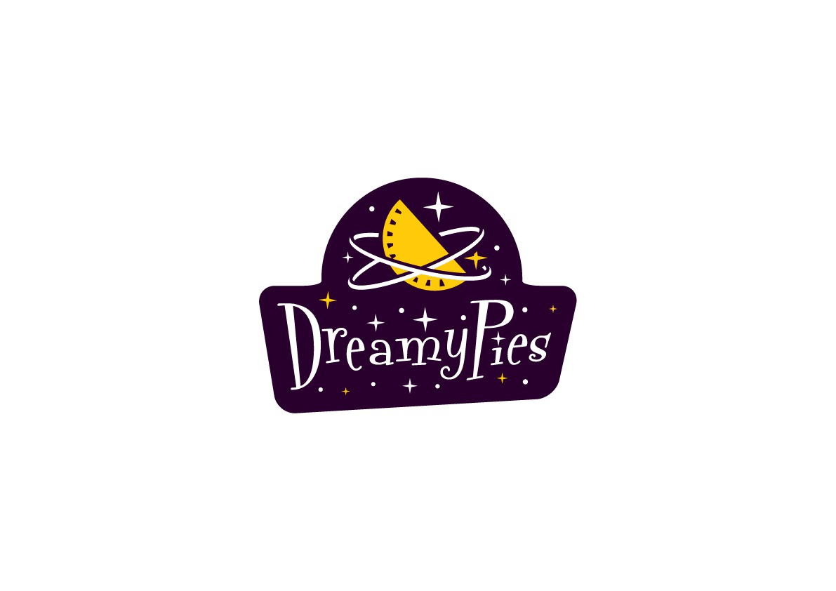 Create a funky, retro logo for a pie company