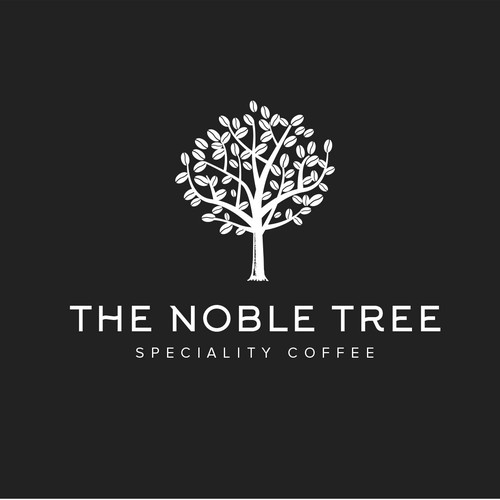 logo concept for Noble tree cofee
