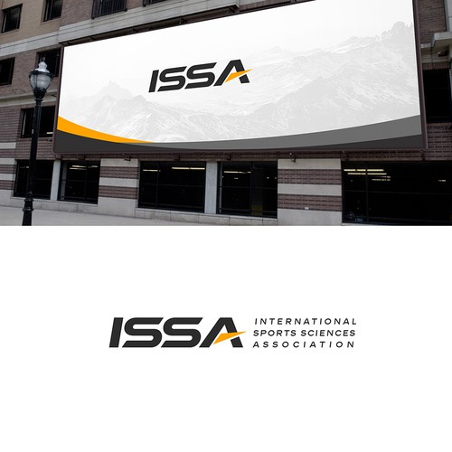 bold logo for ISSA