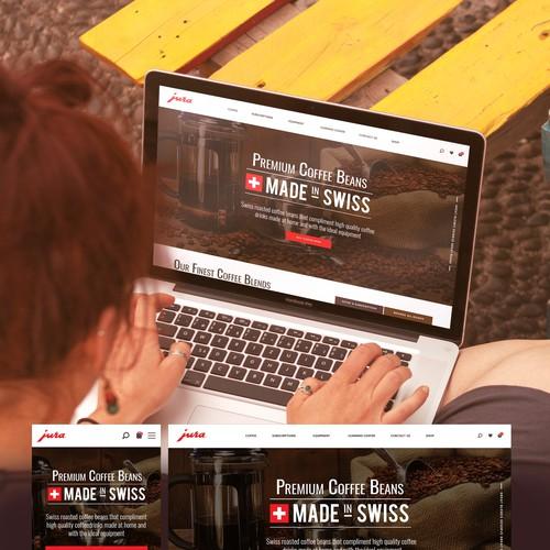 Coffee Website Concept